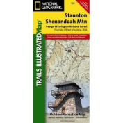National Geographic Stanton & Shenandoah Mountains Map #791
