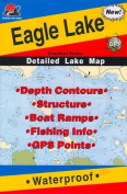 Fishing Hot Spots Map of Eagle Lake