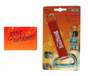 (BOYZ TOYS) Gone Outdoors 5.1cm 1 Carabiner