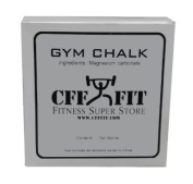 CFF Gym Chalk Block (2 oz) - Great for CrossFitTM, MMA, Boxing, Fitness Training, Strongman