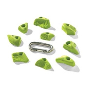Nicros HHZH Micros Berly Bits Handholds - Chartreuse