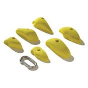 Nicros HHPB Pinches Accents Handholds - Yellow
