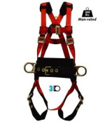 Elk River 62311 Eagle Lite Polyester/Nylon 3 D-Ring Harness, Small