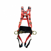 Elk River 62451 WindEagle Polyester/Nylon 4 D-Ring LE Harness with Quick Connect Buckles, Small