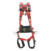 Elk River 62453 WindEagle Polyester/Nylon 4 D-Ring LE Harness with Quick Connect Buckles, Large