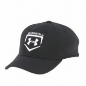 Under Armour Boys' Baseball Stretch Fit Cap