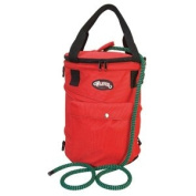 Weaver Leather Deluxe Climbing Rope Bag, Red