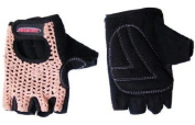 Avenir Classic Crochet Tan Cycling Bike Gloves