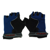 Avenir Raleigh Adventure Comfort Bike Gloves X-Small Blue / Black