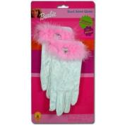 Barbie Velvet Gloves Costume Accessories