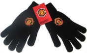 Manchester United Fc Gloves Black