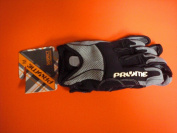 Pryme Suspect Gloves - Adult Medium, Black/White/Grey
