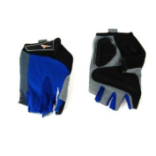 Avenir Comfy Gel Short Finger Gloves Small Royal Blue/Black