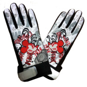 Disney Mickey Mouse Graphic Biker Gloves - Youth Size