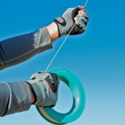 Comfortable Amara Synthetic Leather Kite Flier's Gloves