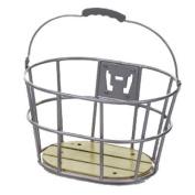 Sunlite Woody Quick Release Basket - 15 x 27.9cm x 22.9cm , Grey