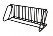 Hollywood Rack PS-12HD Dual Use 12 Bike Parking Stand Black