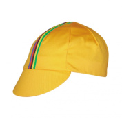 Pace Sportswear World Champ cycling cap, yellow - one size