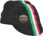 Lazer cap, L/XL Black with Italian stripes