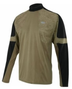 Louis Garneau Men's LS Trail Jersey Gothic Mud XXL