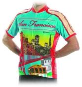 San Francisco City Bicycle Jersey Large