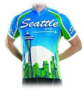 Seattle City Bicycle Jersey Medium