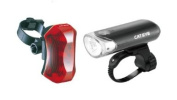 CatEye Head Light and Rear Light Combo, Black