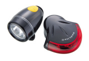 Topeak HighLite Combo II - WhiteLite II and RedLite II