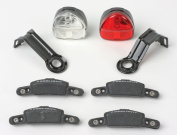 Reelight SL100 Flashing Compact Generator Bicycle Headlight and Tail Light Set