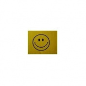 Smiley Face Bicycle Safety Flag with Axel Mount Bracket