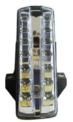 Advanced Lighting Designs Integrated Taillight Clear TL-0315-IT
