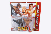 WWE Rumblers Action Figures 2-Pack - R-Truth & The Miz