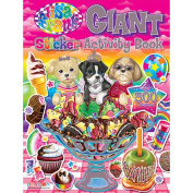 Lisa Frank Giant Sticker Activity and Coloring Book