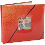 Sport & Hobby Postbound Album 20cm X20cm  - Basketball
