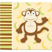 3D Post Bound Scrapbook 30cm x 30cm -Monkey