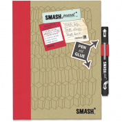 K&Company 484110 Doodle Red SMASH Folio-Doodle Red