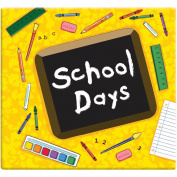 School Days Album 30cm X30cm  - Yellow
