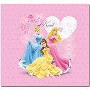 Trends International Princess Glitter & Embossed Cover 30cm x 30cm Princess Postbound Album