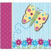 MBI 461723 3D Scrapbook 12 in. x 12 in. -Butterfly