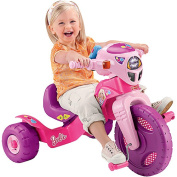 Fisher-Price Lights and Sounds Tricycle - Barbie