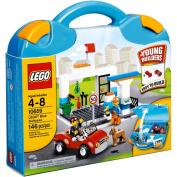 LEGO Bricks and More LEGO Blue Suitcase Play Set