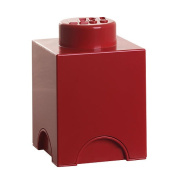 LEGO Stackable Storage Brick 1 - Red