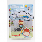Scribblenauts Collectible 5.1cm Figure - Maxwell with Pen