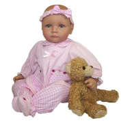 Me and Molly P. 46cm Baby Doll with Bear - Wendi