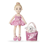 Pinky Promise Blonde Ballerina Doll - Pink Dress