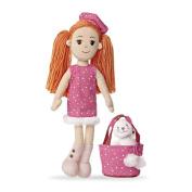 Pinky Promise Polka Dot Dress Rag Doll