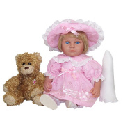 Me and Molly P. 33cm Easter Lilly Doll with Bear