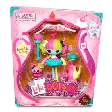 Lalaloopsy Mini Oopsie Princess Ballerina Doll- Saffron