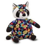 Melissa & Doug Beeposh Collection Plush Figure - Razzle Raccoon