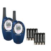Cobra MicroTalk Walkie Talkies - 25 Mile Range - Police Black